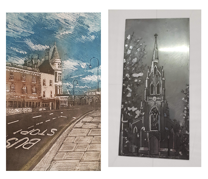 Etching and Photo Etching - Thursday Afternoon  (Studio Practice)