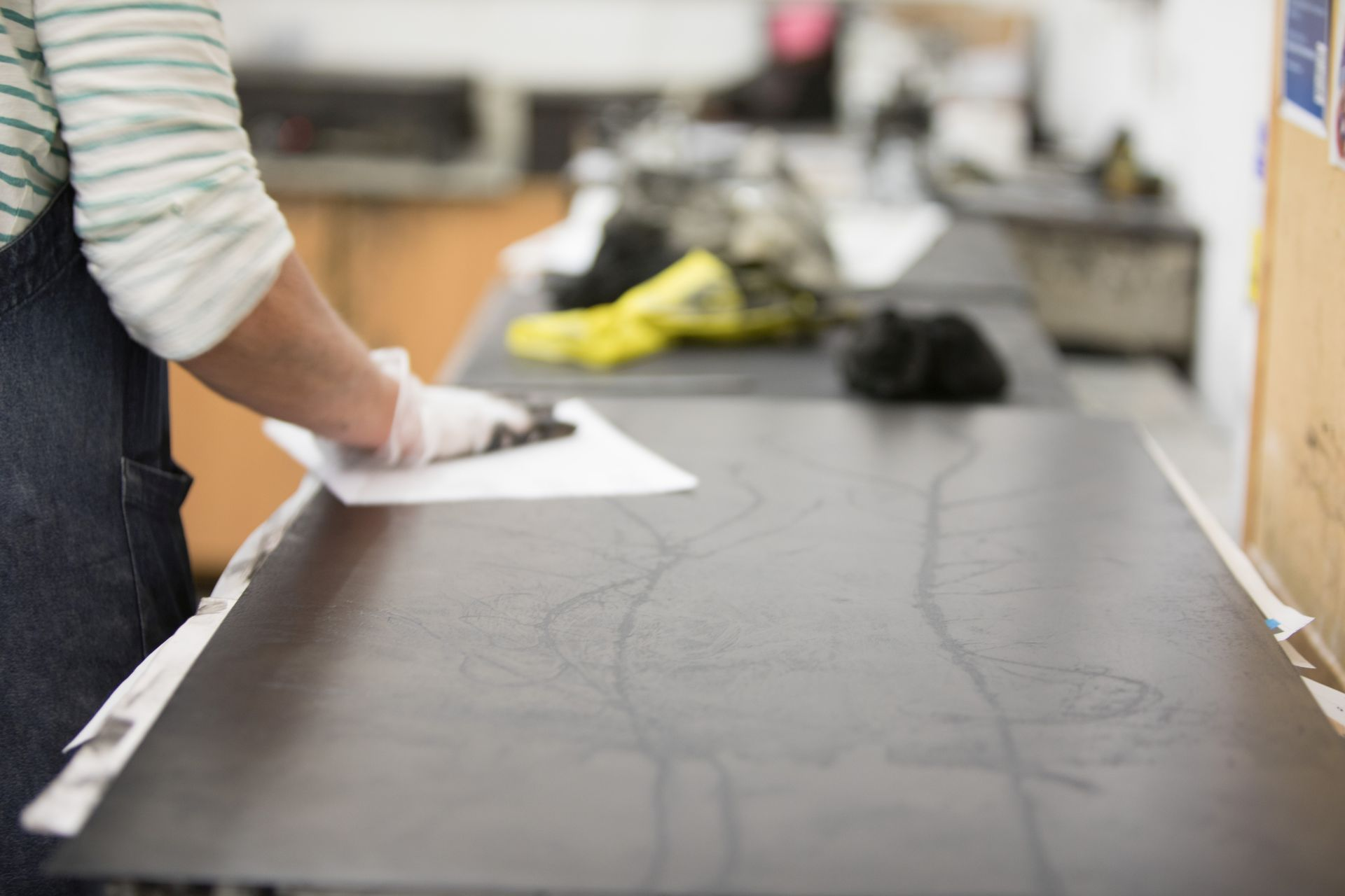 Printmaking: Drypoint and Chine Colle (Mixed Level)