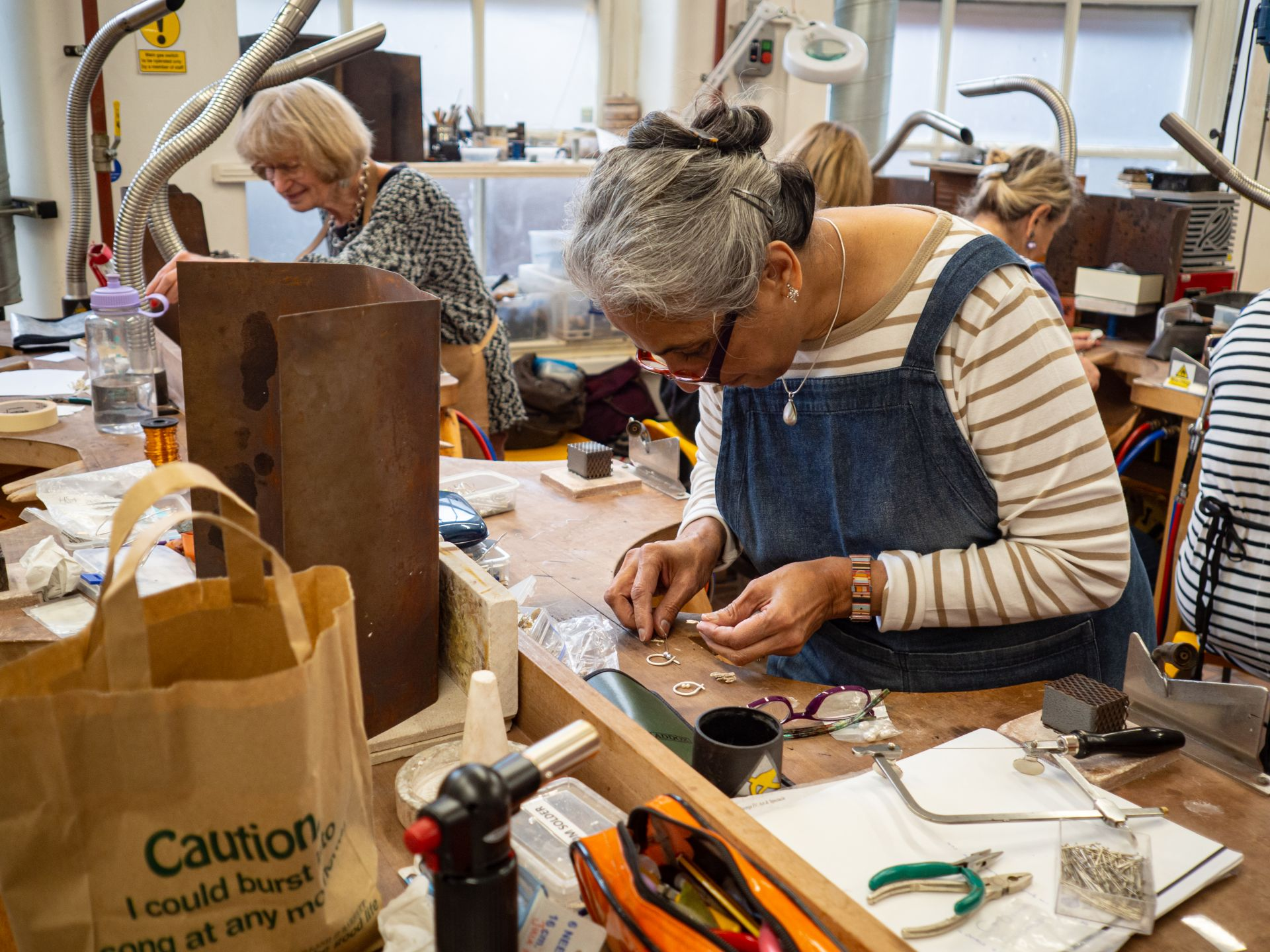 Jewellery and Silversmithing - Saturday (Mixed level)